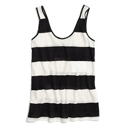 Linen Tank in Stripe