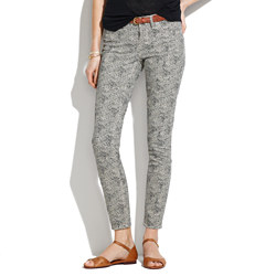 Skinny Skinny Ankle Jeans in Safari Dot