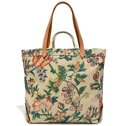 The Double-Handle Tote in Garden Vine
