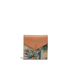 The Dispatch Mini-Wallet in Garden Vine
