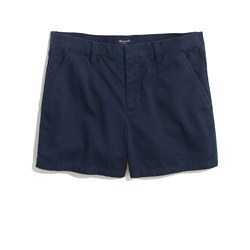 Tailored Shorts in Deep Navy