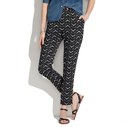 Printed Delancey Trousers