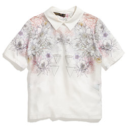 Something Else by Natalie Wood Floral Mirage Shirt