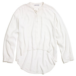 See By Chloé® Crinkled Button-Down Blouse