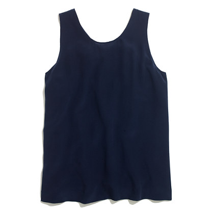 Silk Bow-Back Tank