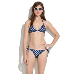 Reversible String Bikini Top in Stripes &amp; Spots<BulletPoint></BulletPoint>
