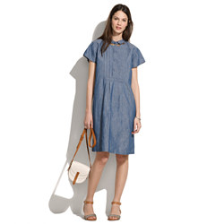 Chimala® Chambray Farmer's Dress