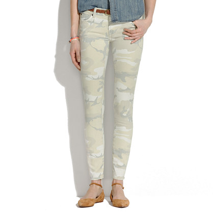 Camo Skinny Jeans from madewell.com