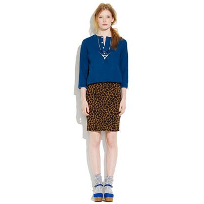 Safari Print Downtown Skirt