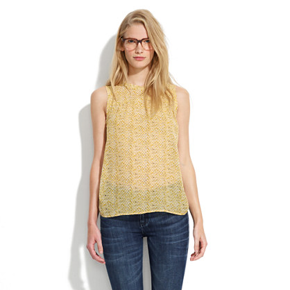 Silk Sunshadow Tank