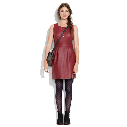 Leather Shiftdress
