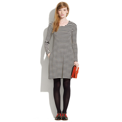 Striped Diary Dress