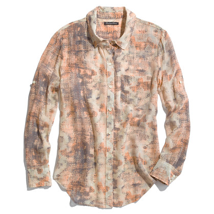 Silk Sandstamp Boyshirt