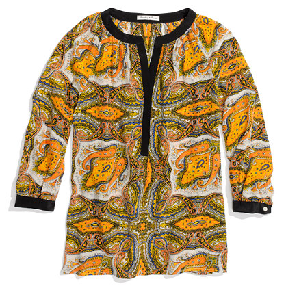 Silk Paisleyview Blouse