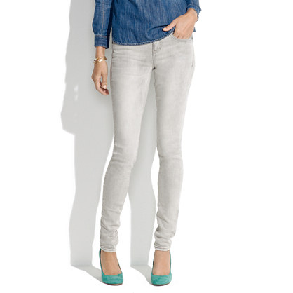 Skinny Skinny Jeans in Silversmith Wash, $115, Photo: madewell.com