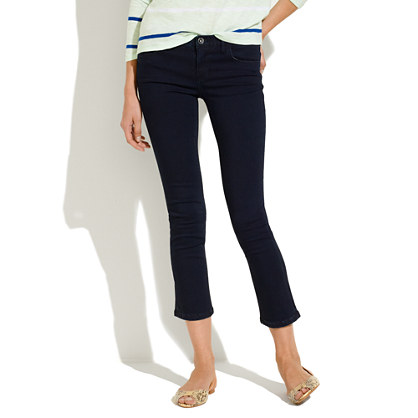 Junction Crop Jeans in Great Lakes Wash