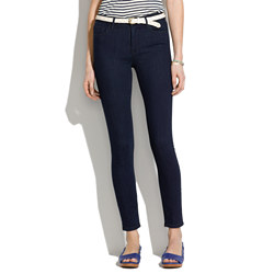 Skinny Skinny Ankle High Riser Jeans in Dusk Wash
