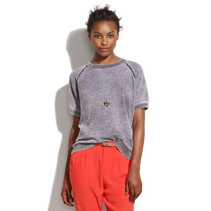 Rxmance® Solid Short-Sleeve Sweatshirt