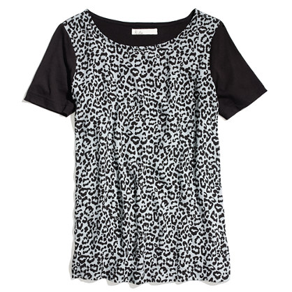 Leopard-Spot Pictureshow Tee