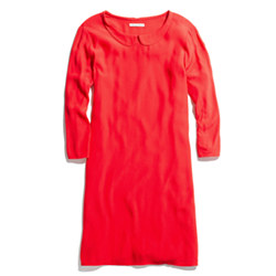 Round-Collar Shiftdress