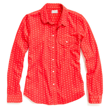 Shrunken Paintdot Cord Boyshirt