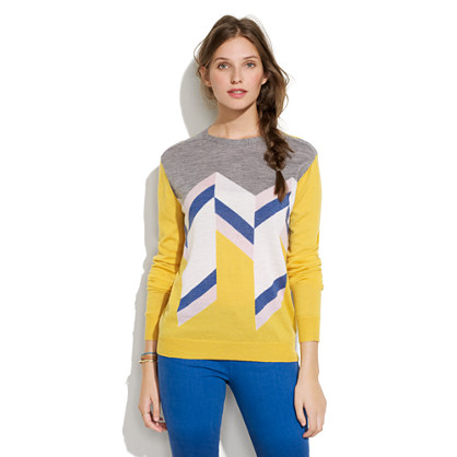 Le Mont St. Michel® Geometric Shapes Sweater