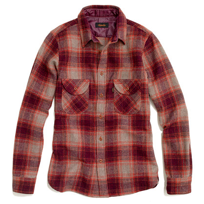 Chimala® Wool Plaid Workshirt