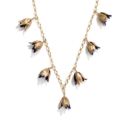 Gilded Tulip Necklace
