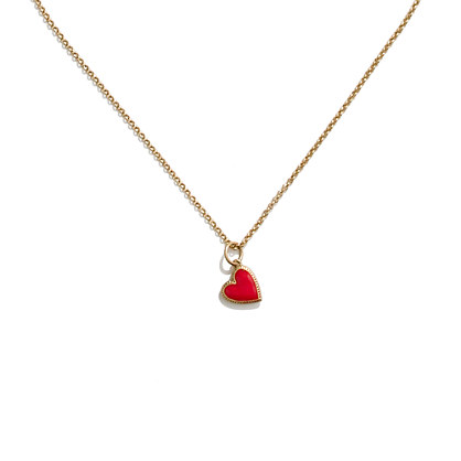 Secret Heart Pendant Necklace