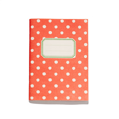O-Check for Top Hat Small Pattern Notebook