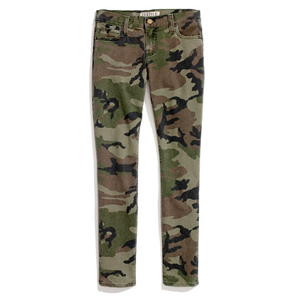 TEXTILE ELIZABETH and JAMES® camouflage skinny jeans