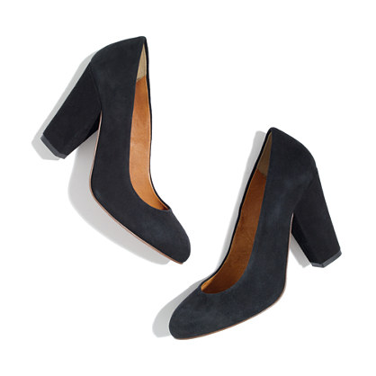 The Frankie Pump in Suede
