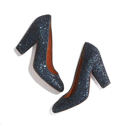 The Frankie Pump in Glitter