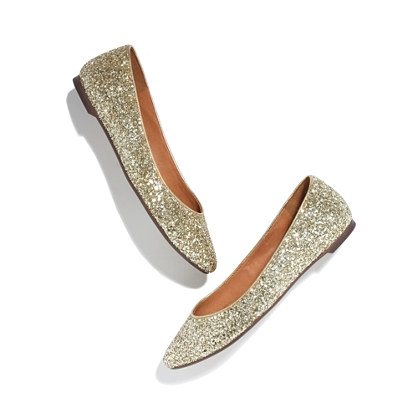 The Sidewalk Skimmer in Glitter  :  holiday flat party glitter