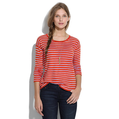 Sun-Faded Stripes Tee