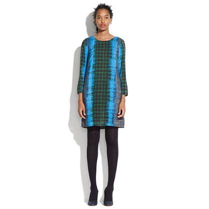Silk Multiprint Dress