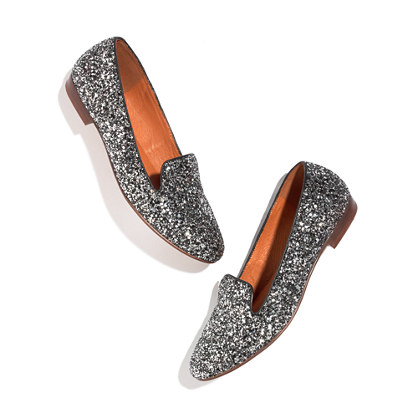 The Teddy Loafer in Glitter