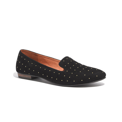 The Teddy Loafer in Studded Suede