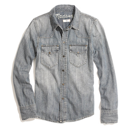 Buy shirts & clothing - Western Jean Shirt in Desert Willow Wash