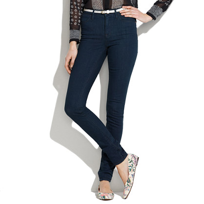 Skinny Skinny High Riser Jeans in Eclipse Wash