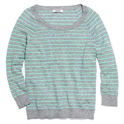 Sweatshirt Sweater in Stripe