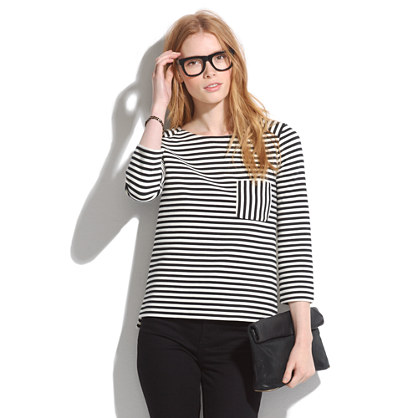 Ridgestripe Top :  blouse top shop stripes
