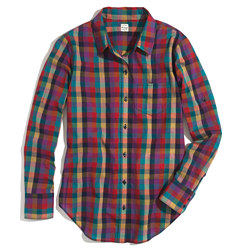 Retroplaid Boyshirt