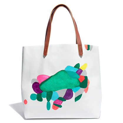 Rebeca Raney X Madewell Hand-painted Tote