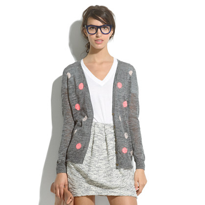 Fairweather Cardigan in Doubledot