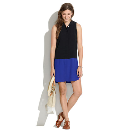 Sleeveless Tunic Dress from madewell.com