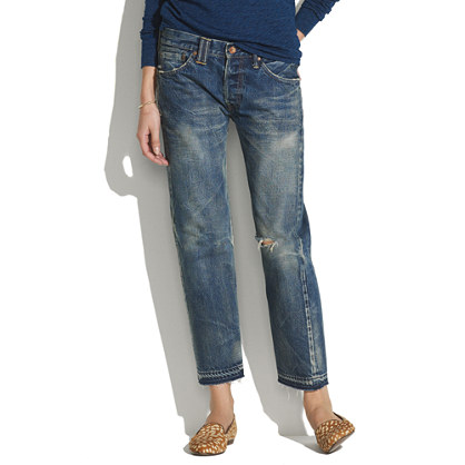 Chimala® Denim Ankle Pants