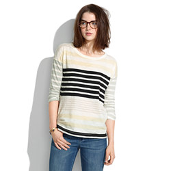 Easy Tee in Stripestack