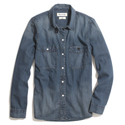 Denim Boyshirt in Campground Wash