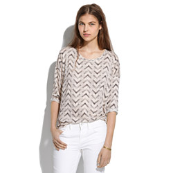 Easy Tee in Zigzag